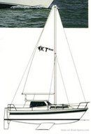 Westerly Konsort Duo 29 sailplan Picture extracted from the commercial documentation © Westerly