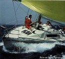 Bénéteau R/C 32 sailing Picture extracted from the commercial documentation © Bénéteau