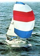 Albin Marine Albin Viggen sailing Picture extracted from the commercial documentation © Albin Marine