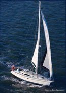 Catalina Yachts Catalina 445 en navigation Image issue de la documentation commerciale © Catalina Yachts