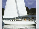 Catalina Yachts Catalina 34 MkI  Image issue de la documentation commerciale © Catalina Yachts