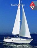 Catalina Yachts Catalina 42 sailing Picture extracted from the commercial documentation © Catalina Yachts