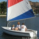 Catalina Yachts Catalina Expo 14.2 en navigation Image issue de la documentation commerciale © Catalina Yachts