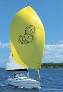 Bénéteau 343 sailing Picture extracted from the commercial documentation © Bénéteau