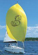 Bénéteau 343 en navigation Image issue de la documentation commerciale © Bénéteau