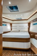 Italia Yachts Italia 15.98 interior and accommodations Picture extracted from the commercial documentation © Italia Yachts