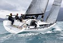 Italia Yachts Italia 9.98 en navigation Image issue de la documentation commerciale © Italia Yachts