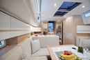 Elan Yachts Elan E5 interior and accommodations Picture extracted from the commercial documentation © Elan Yachts
