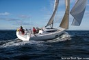 Elan Yachts Elan S5 en navigation Image issue de la documentation commerciale © Elan Yachts