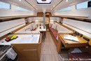 Elan Yachts Elan S4 interior and accommodations Picture extracted from the commercial documentation © Elan Yachts