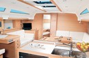 Elan Yachts Elan E6 interior and accommodations Picture extracted from the commercial documentation © Elan Yachts