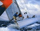 Bénéteau First 456 sailing Picture extracted from the commercial documentation © Bénéteau