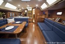 Marlow Hunter 37 interior and accommodations Picture extracted from the commercial documentation © Marlow Hunter