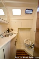 Marlow Hunter 33 intérieur et aménagements Image issue de la documentation commerciale © Marlow Hunter