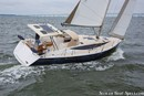 Marlow Hunter 40 sailing Picture extracted from the commercial documentation © Marlow Hunter