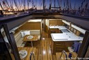 Marlow Hunter 47 intérieur et aménagements Image issue de la documentation commerciale © Marlow Hunter