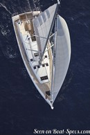 Jeanneau <b>Sun Odyssey 490</b> en navigationImage issue de la documentation commerciale © Jeanneau