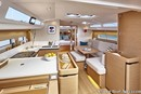 Jeanneau Sun Odyssey 440 interior and accommodations Picture extracted from the commercial documentation © Jeanneau