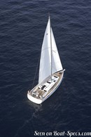 Jeanneau Sun Odyssey 440 sailing Picture extracted from the commercial documentation © Jeanneau