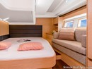 Hanse 548 interior and accommodations Picture extracted from the commercial documentation © Hanse