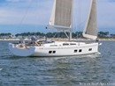 Hanse 548 en navigation Image issue de la documentation commerciale © Hanse