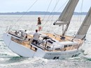 Hanse 548 sailing Picture extracted from the commercial documentation © Hanse