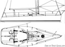 Carroll Marine Mumm 30 plan Image issue de la documentation commerciale © Carroll Marine