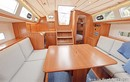 Hallberg-Rassy 340 interior and accommodations Picture extracted from the commercial documentation © Hallberg-Rassy