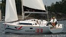 AD Boats Salona 33 sailing Picture extracted from the commercial documentation © AD Boats