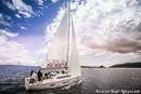 AD Boats Salona 380 en navigation Image issue de la documentation commerciale © AD Boats