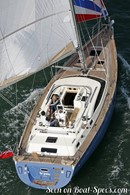 Discovery Yachts Group Southerly 435 en navigation Image issue de la documentation commerciale © Discovery Yachts Group