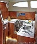 Discovery Yachts Group Southerly 470 interior and accommodations Picture extracted from the commercial documentation © Discovery Yachts Group