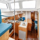 K&M Yachtbuilder Bestevaer 45ST Pure interior and accommodations Picture extracted from the commercial documentation © K&M Yachtbuilder