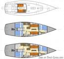 K&M Yachtbuilder Bestevaer 45ST Pure plan Image issue de la documentation commerciale © K&M Yachtbuilder