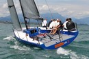 Ice Yachts Ice 33 en navigation Image issue de la documentation commerciale © Ice Yachts