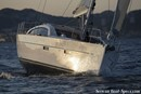 Wauquiez Pilot Saloon 48 sailing Picture extracted from the commercial documentation © Wauquiez