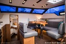 Wauquiez Pilot Saloon 42 interior and accommodations Picture extracted from the commercial documentation © Wauquiez