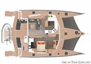 Neel Trimarans Neel 51 plan Image issue de la documentation commerciale © Neel Trimarans