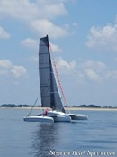 Astus Boats <b>Astus 20.5</b> sailingPicture extracted from the commercial documentation © Astus Boats