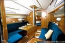 Jeanneau Sun Fast 32i interior and accommodations Picture extracted from the commercial documentation © Jeanneau
