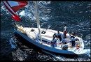 Jeanneau Sun Fast 32i en navigation Image issue de la documentation commerciale © Jeanneau