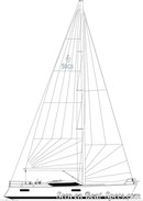 Conyplex <b>Contest 50CS</b> sailplanPicture extracted from the commercial documentation © Conyplex