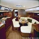 X-Yachts X-46 interior and accommodations Picture extracted from the commercial documentation © X-Yachts