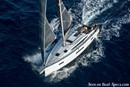 Jeanneau Sun Odyssey 410 en navigation Image issue de la documentation commerciale © Jeanneau