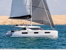 Lagoon 46 sailing Picture extracted from the commercial documentation © Lagoon