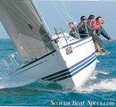 X-Yachts X-332 sailing Picture extracted from the commercial documentation © X-Yachts