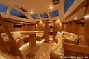 Hylas Yachts Hylas 48 interior and accommodations Picture extracted from the commercial documentation © Hylas Yachts