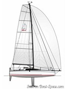 Dehler 30 OD sailplan Picture extracted from the commercial documentation © Dehler