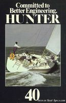 Marlow Hunter Hunter 40 en navigation Image issue de la documentation commerciale © Marlow Hunter