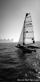 White Formula F101 sailing Picture extracted from the commercial documentation © White Formula